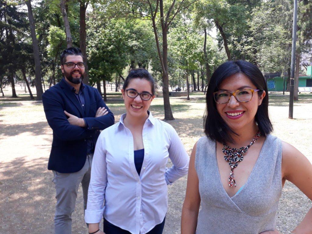 Manuel Ureste, Miriam Castillo y Nayeli Roldán