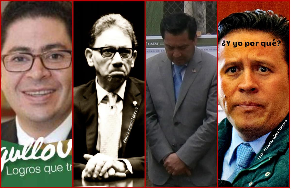 Hiram Raul Piña Libien, Alfredo Barrera Baca, Javier González Martínez y Jorge Bernáldez García