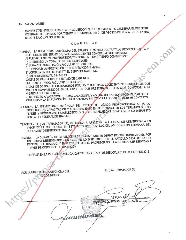 contrato 2012