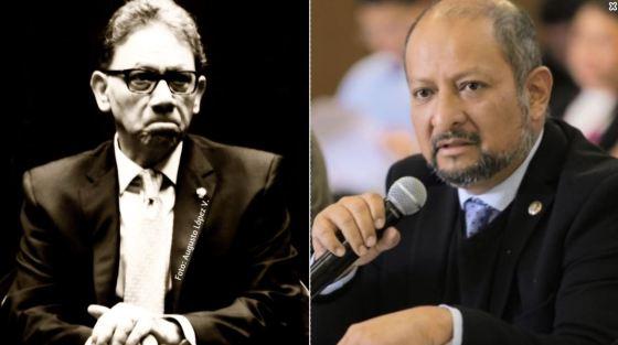 Alfredo Barrera Baca y Max Correa
