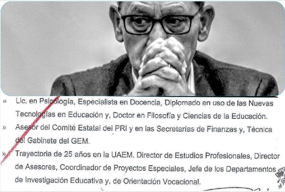 Alfredo Barrera Baca asesor del PRI