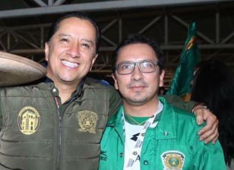 Jorge Olvera García y Enrique Parra Alva