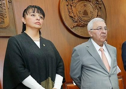Janet Socorro Valero Vilchis y Emilio Chuayffet