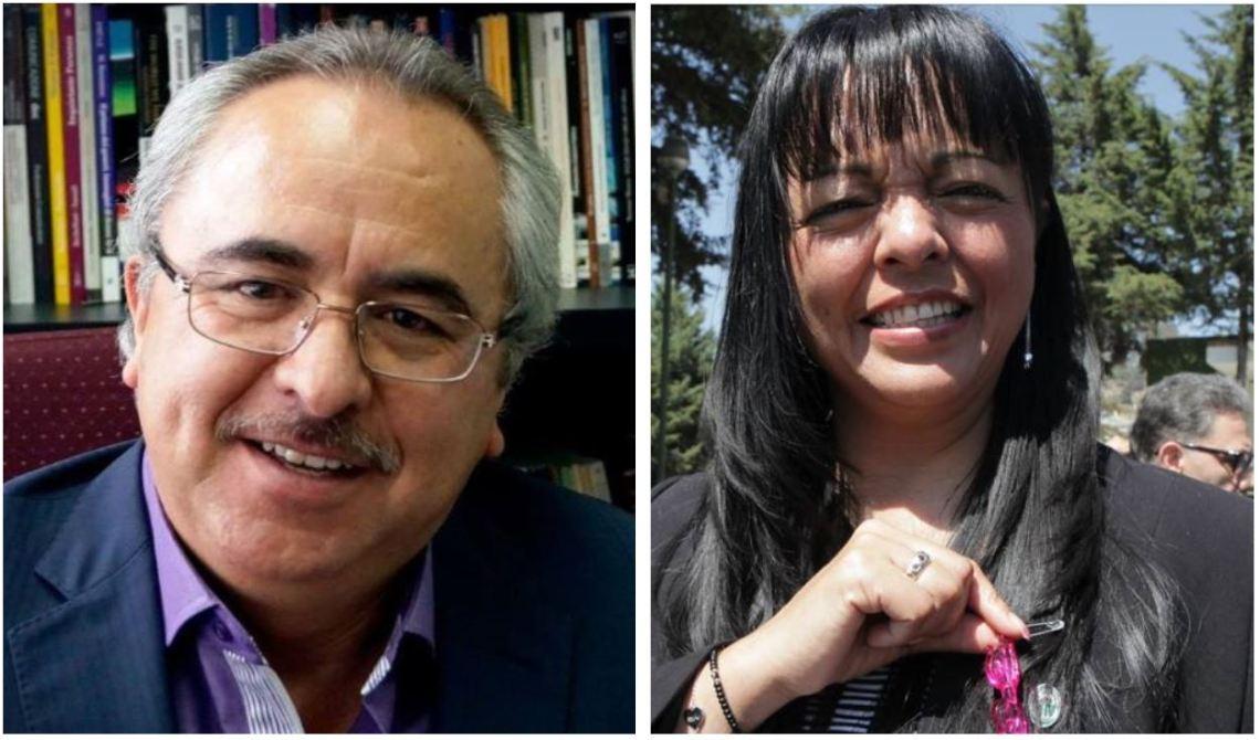 Luis Alfonso Guadarrama Rico y Jannet Socorro Valero Vilchis