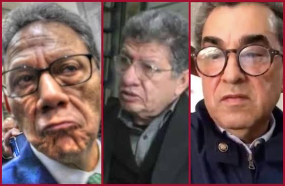 Alfredo Barrera Baca, Francisco Márquez Vázquez y Marco Antonio Luna Pichardo